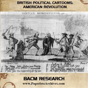 American Revolution: British Political Cartoons - Download