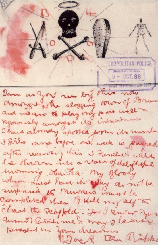 Jack the Ripper - Whitechapel Murders London Police - Scotland Yard - FBI Documents FBI Documents