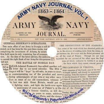Civil War: Army Navy Journal & Gazette Volume 1 (1863 - 1864) - Download