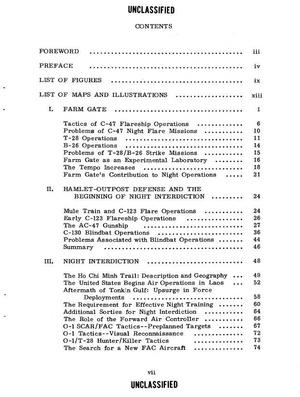 Vietnam War Air Force Top Secret Blue Book Studies 1962 to 1980
