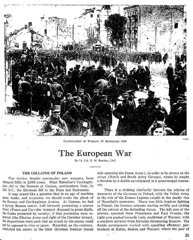 World War II: Military Review 1938 - 1948