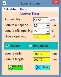 Kitchen Exhaust Calculation