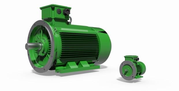 IEC Motors B35 - 72 Types.
