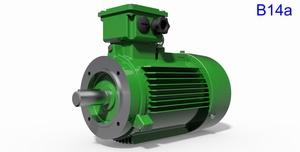 IEC Motors B14 - 14 Types.