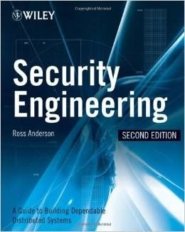 ITM 820 EBOOK - Security Engineering: A Guide to Building Dependable Distributed Systems