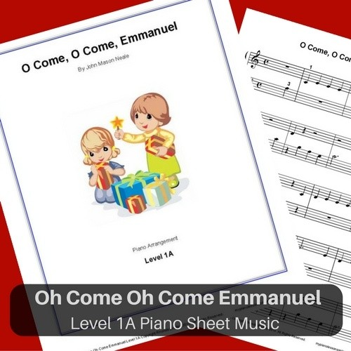 O Come O Come Emmanuel sheet music