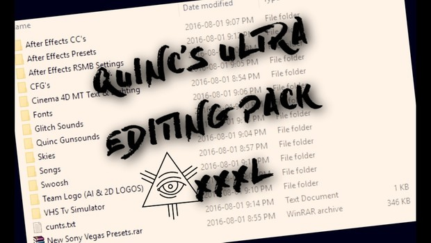 Quinc's ULTRA Editing Pack XXXL