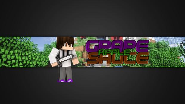 Minecraft Banner.