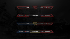FazeClan Twitch/Video Overlays x2