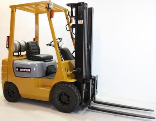 CAT GP15, GP18, GP20, GP25, GP30, GP35 Gas/LPG Forklift Truck Workshop Service Manual