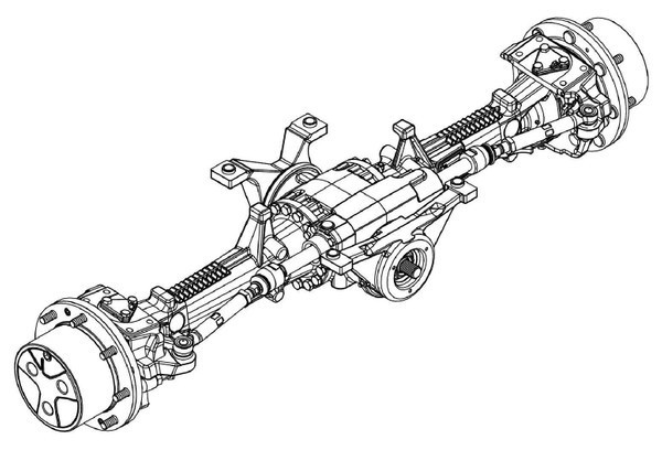 JD MFWD Tractors Front Axles AS, APL Series, Dana, Carraro & John Deere Technical Manual (CTM8193)
