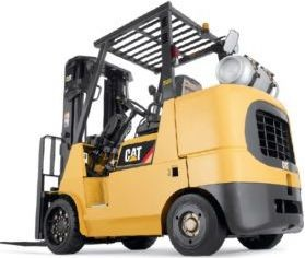 CAT GC35K, GC40K, GC45K, GC50K, GC55K, GC60K, GC70K Gas/LPG Forklift Truck Service Manual