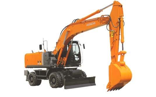 Hitachi Zaxis 210W-3, 220W-3 Wheeled Hydraulic Excavator Workshop Service Manual