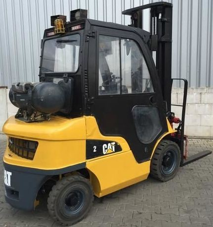 CAT GP15N, GP18N, GP20CN, GP20N, GP25N, GP30N, GP35N Gas/LPG Forklift Truck Service Manual