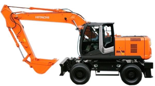Hitachi Zaxis 140W-3, 170W-3, 190W-3, 210W-3 Excavator Operators Manual w. Maintenance Instructions