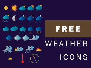 FREE WEATHER ICONS | BY ATT