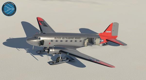 The VSKYLABS C-47 Skytrain Flying Lab Project AU build 3.0b1