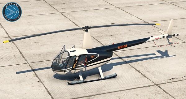 VSKYLABS Robinson R44 Raven II Project v1.1c