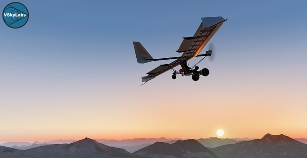 VSKYLABS MH Ultralight Bush-Plane v3.7a (9th April 2018)