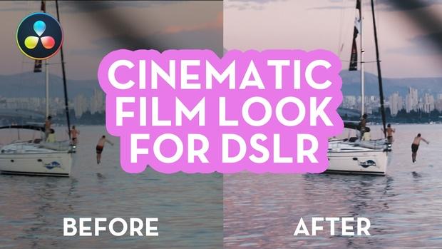 4 Amazing DSLR Cinematic LUTs - 12 Different Looks