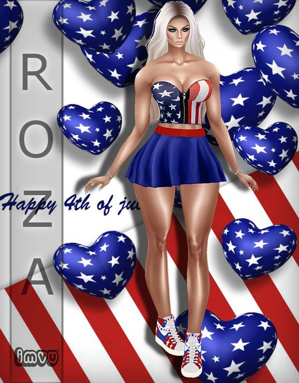 4 July_v1 Bundle TEXTURE IMVU