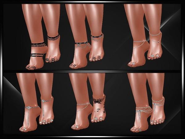 Feet jewels