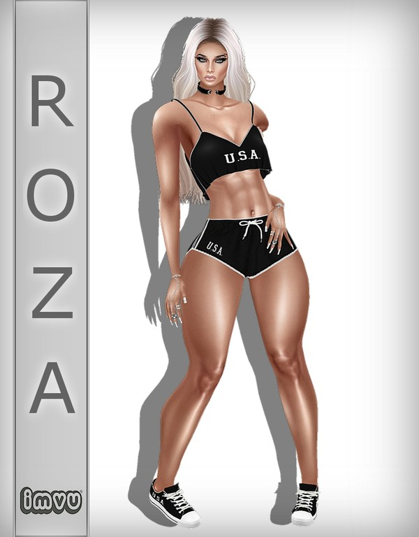 U.S.A Black Bundle IMVU TEXTURE