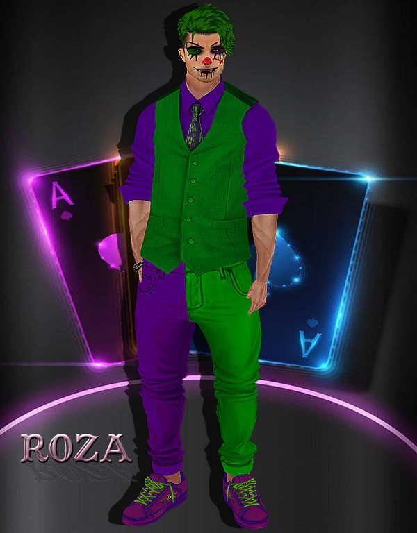 Joker Men Bundle_IMVU TEXTURE