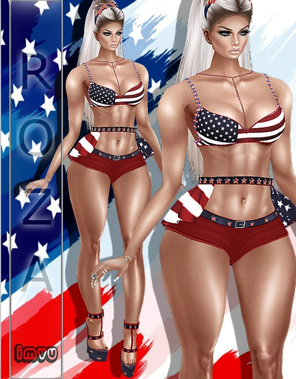 4th July  Bundle IMVU TEXTURE