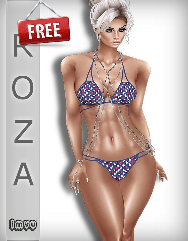 USA Free Bikini TEXTURE IMVU