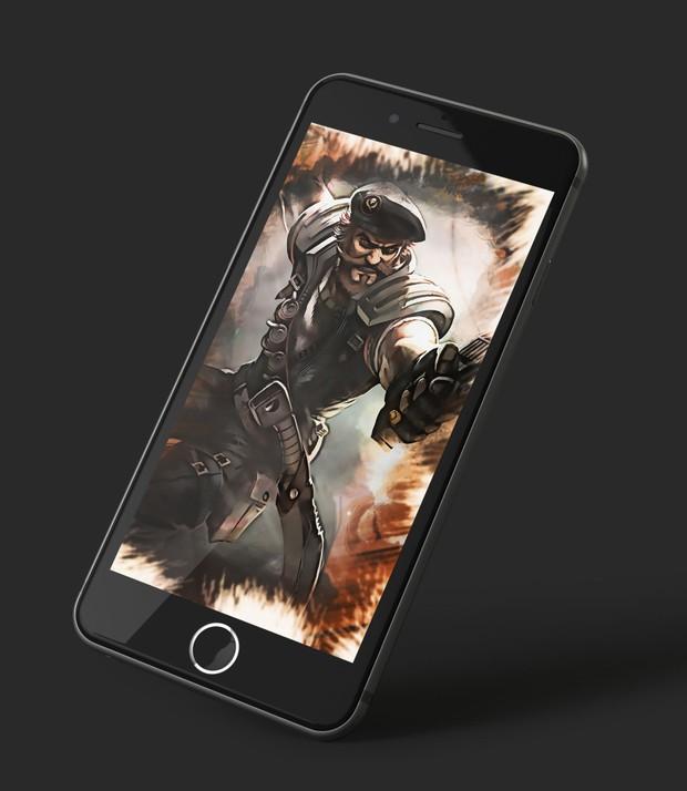 Iphone Wallpaper Gangplank Special Forces Naumovski