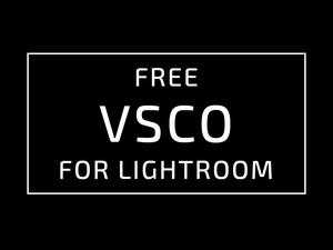 VSCO presets for adobe lightroom