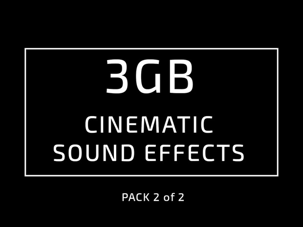 Cinematic video sound EFFECT (PACK 2 of 2) from ADOBE PRESET