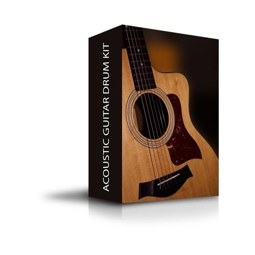 Acoustic Guitar Drum Kit