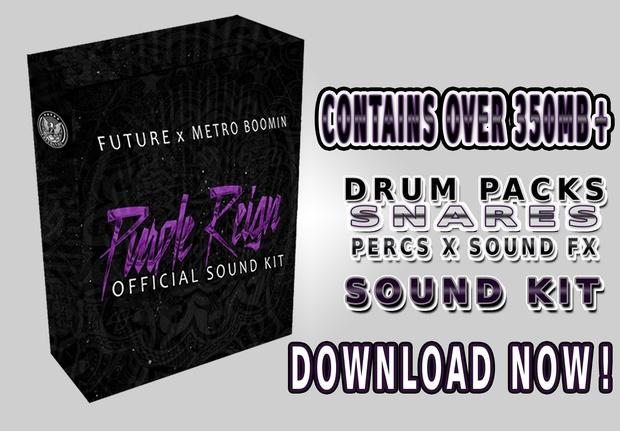 Official Future x Metro Boomin Purple Reign Sound Kit