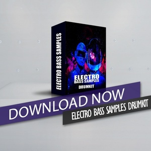 ELECTRO BASS SAMPLES DRUMKIT
