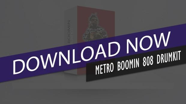 OFFICIAL METRO BOOMIN 808 DRUMKIT
