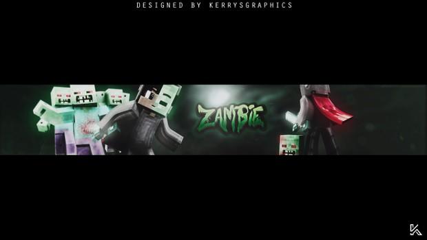 Custom Minecraft YouTube Banner