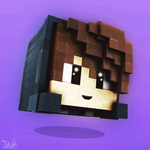 Custom Minecraft Floating Head