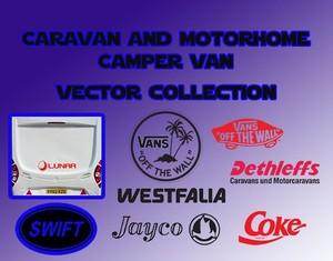 Caravan & Campervan Rad Vector Collection