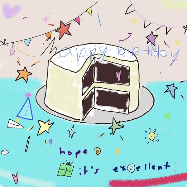 happy birthday cake textable image