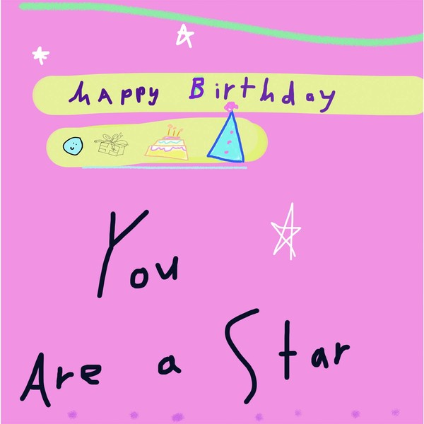 you're a star happy birthday textable image