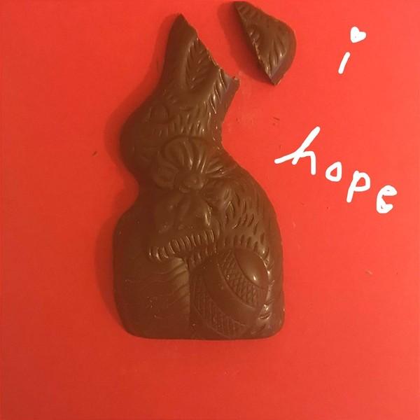 sweet easter chocolate rabbit gif
