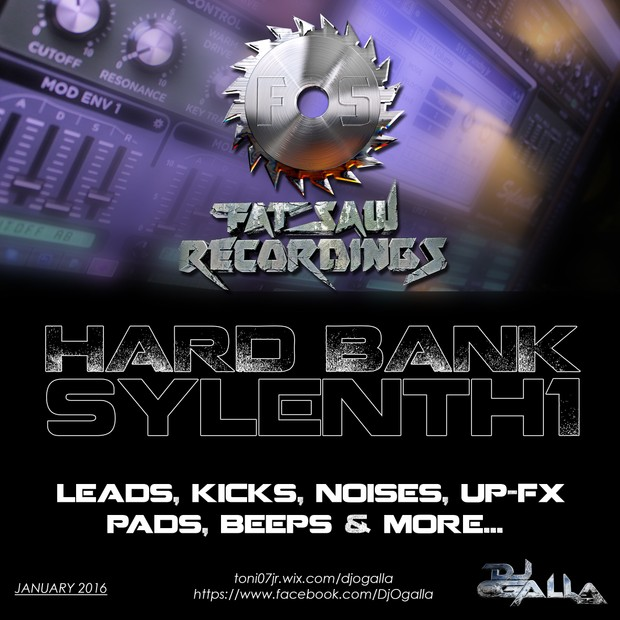 Fat Saw Recordings Hard Bank for Sylenth1