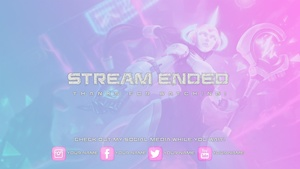 Twitch Stream Soraka overlay set