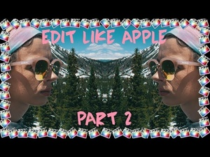 Edit Like Apple | ZOOM & FAST PAN Final Cut Pro X Transitions  | Part 2/5