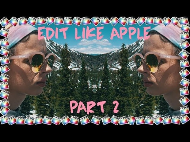 Edit Like Apple | ZOOM & FAST PAN Final Cut Pro X Transitions  | Part 2/5