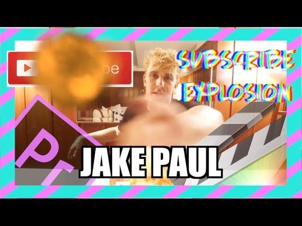 Adobe Premier, Sony Vegas, iMovie - Jake Paul Subscribe Explosion Download - Final Cut Pro