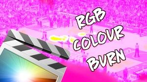 RGB Colour Burn Effect & Transition - Final Cut Pro X