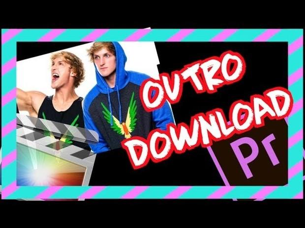 CRAZY Logan Paul OUTRO Download - Final Cut Pro & Adobe Premiere